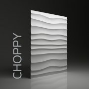 CHOPPY Panel ścienny 3D DUNES