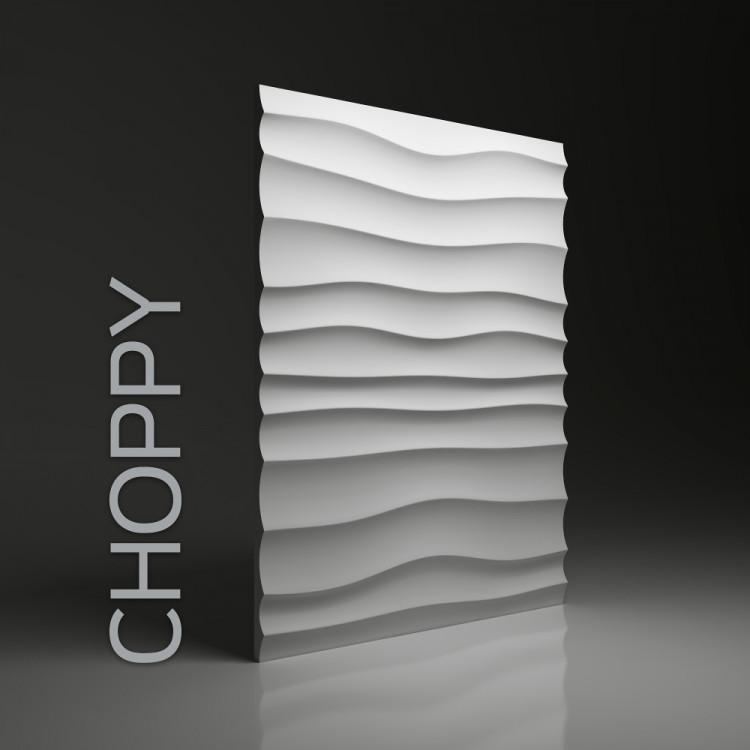 CHOPPY Panel ścienny 3D DUNES
