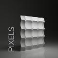PIXELS PANEL ŚCIENNY 3D DUNES