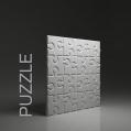 PUZZLE PANEL ŚCIENNY 3D DUNES