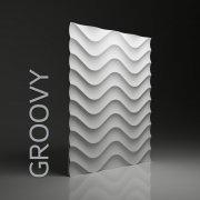 GROOVY Panel ścienny 3D DUNES