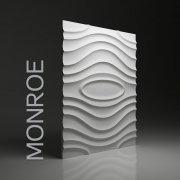 MONROE Panel ścienny 3D DUNES