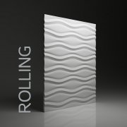 ROLLING Panel ścienny 3D DUNES