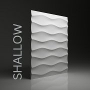 SHALLOW Panel ścienny 3D DUNES