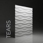 TEARS Panel ścienny 3D DUNES