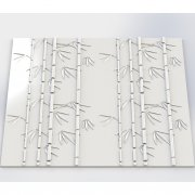 Bamboo Panel ścienny 3D ARTPANEL